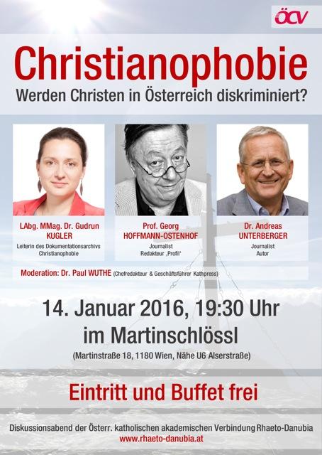 Christianophobie Event Jänner 2016 Wien