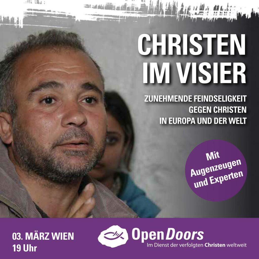 Flyer 3.3. 2016 Christen im Visier