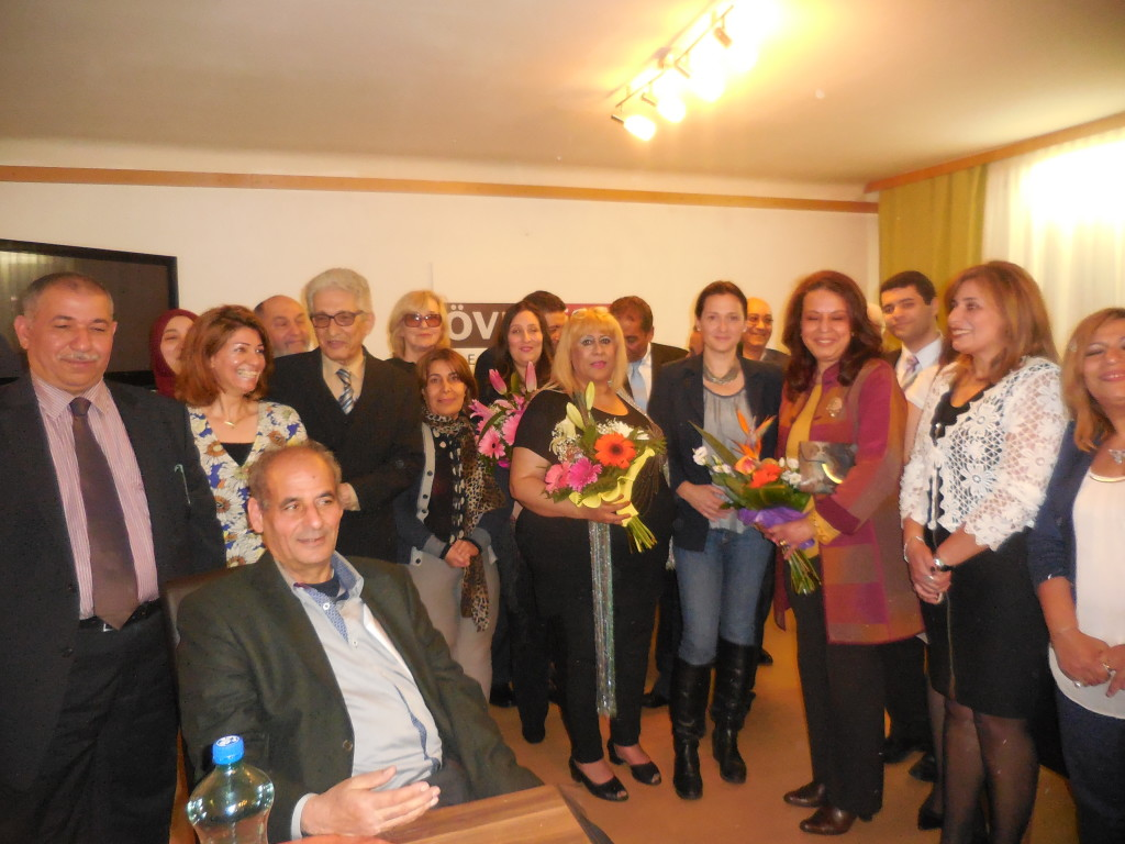 Ägyptisch-stämmige Bürgerinnen-Diskussion am 4. Mai 2017