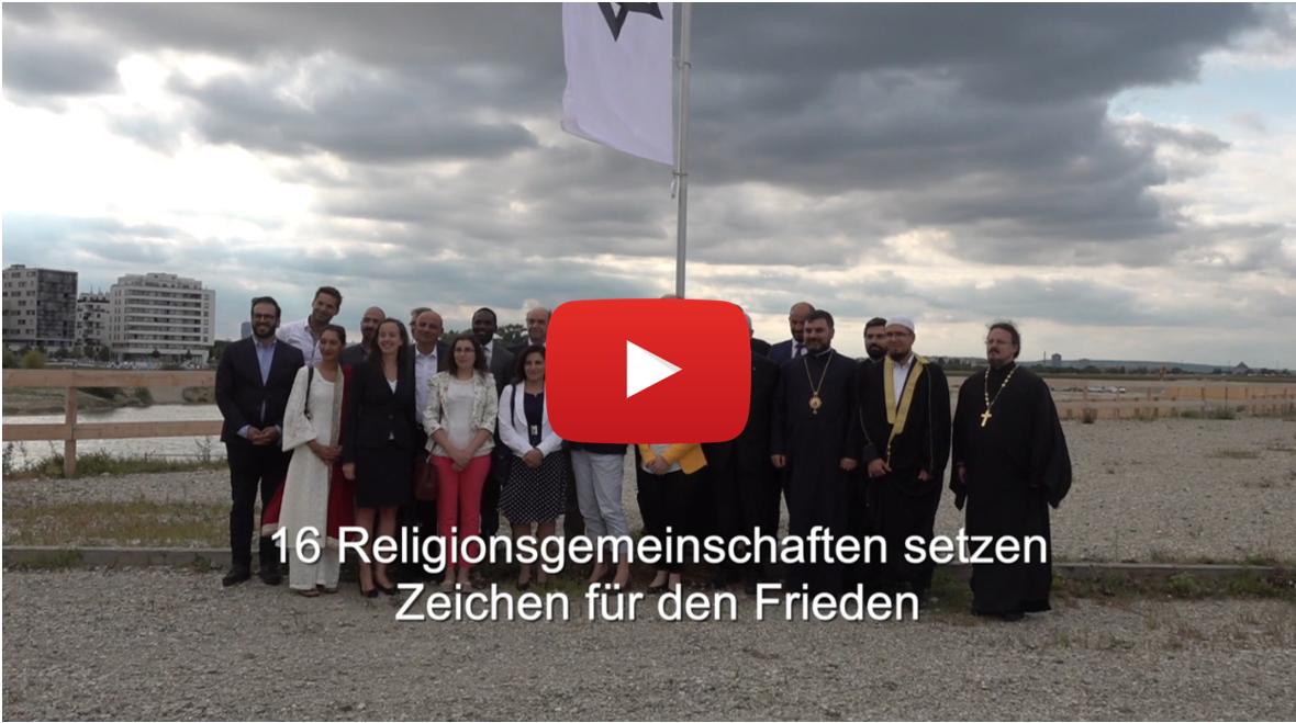 Erstmals 16 Religionsgemeinschaften