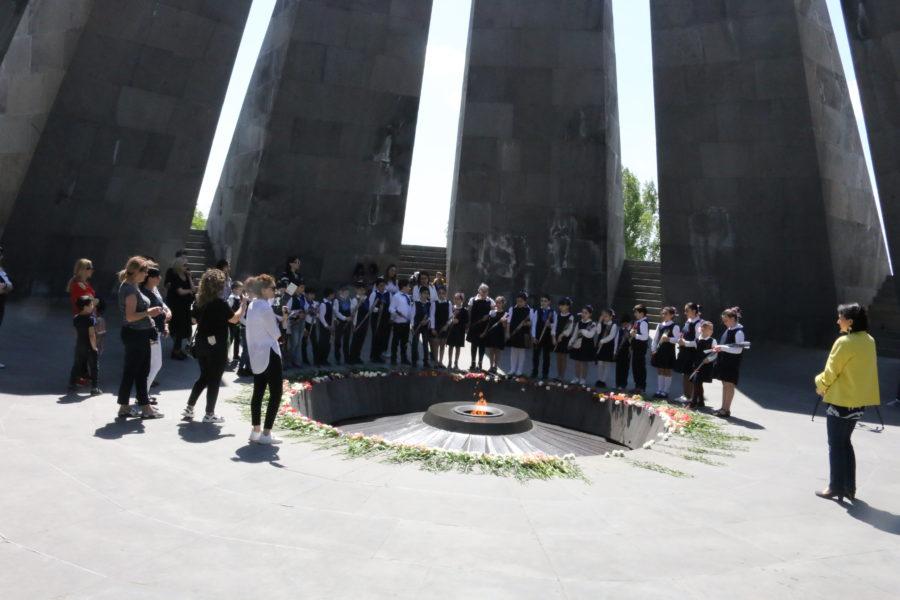 Armenien Genoziddenkmal